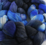 100% Merino 'Night Sky' 4 oz Combed Top
