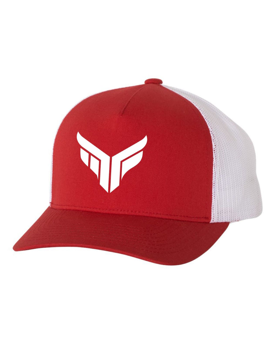 MF Semi-Curved Bill (Red)