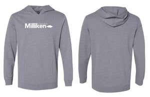 Milliken Fishing Lightweight Hoodie - Grey