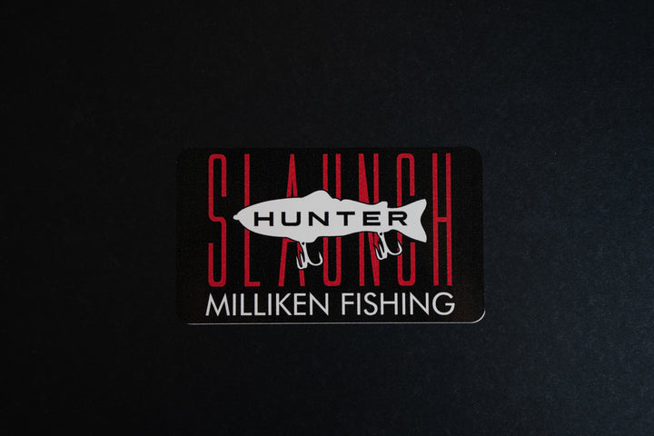 Milliken Fishing Stickers