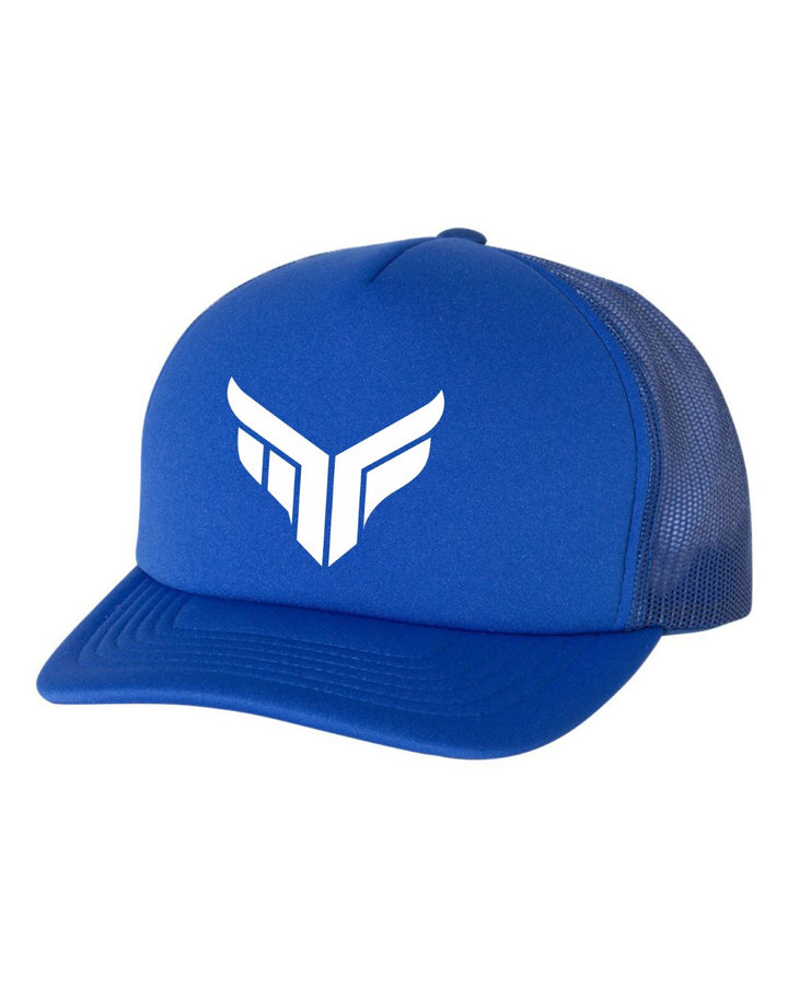MF Foam Trucker Semi-Curved Bill (Blue)
