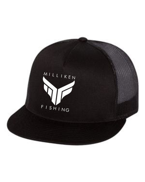 Milliken Fishing Flat Bill (Black)