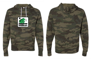 Bass Age Hoodie - Forest Camo