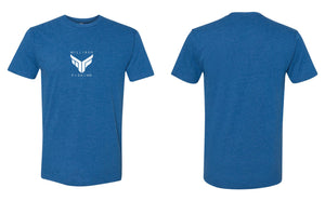 Milliken Fishing Tee - Royal Heather Blue