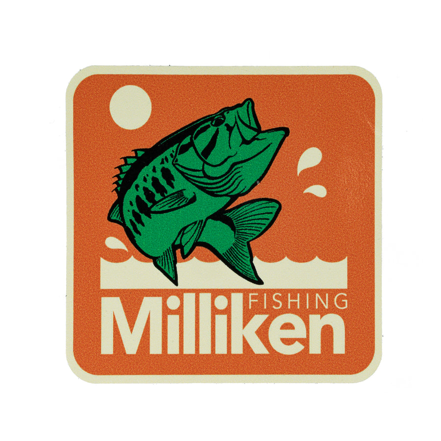 Milliken Fishing 'Bass Age' Decal