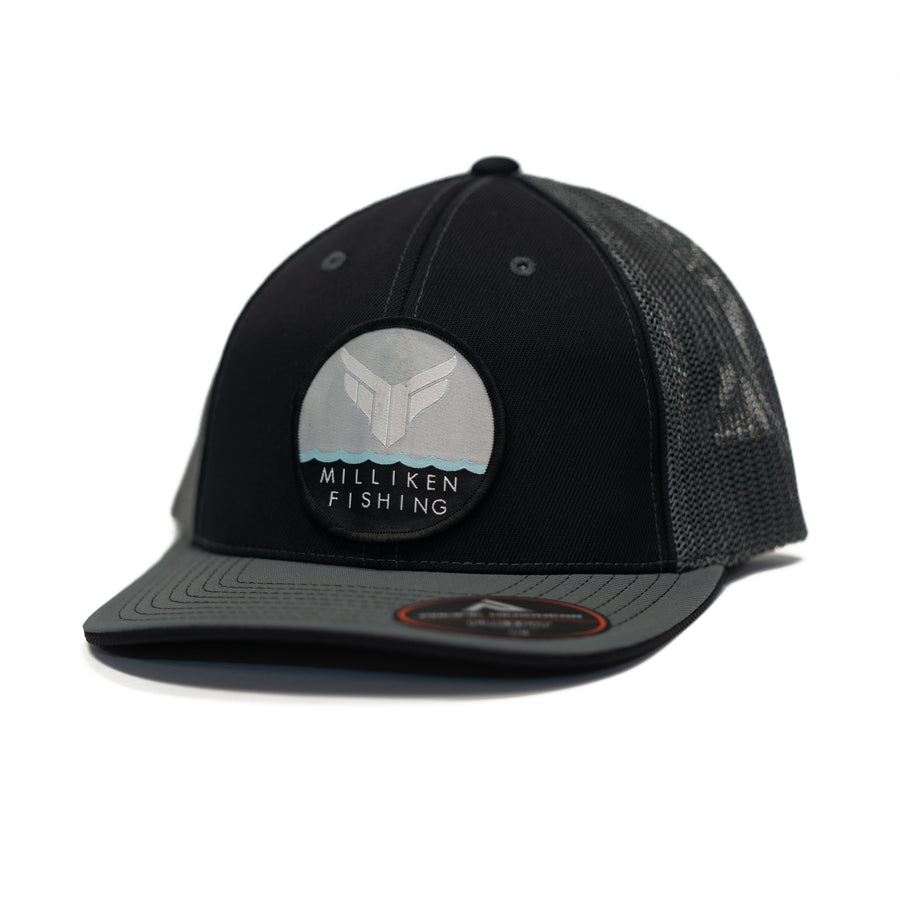 MF Flexfit Fitted Hat (Black/Gray)