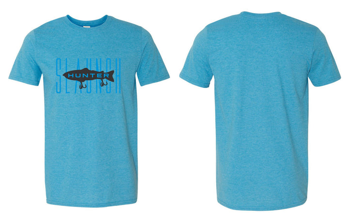 Slaunch Hunter Tee (Aqua Heather)