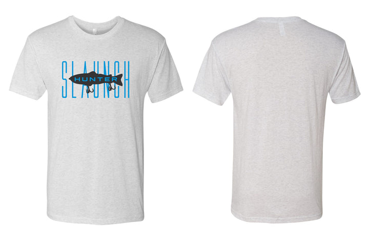 Slaunch Hunter Premium Tee (Heather White)