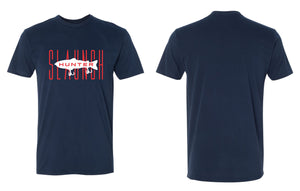 Slaunch Hunter Red Tee - Navy