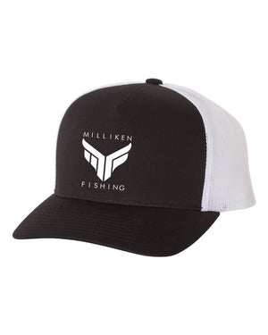 Milliken Fishing Semi-Curved Bill (Black)