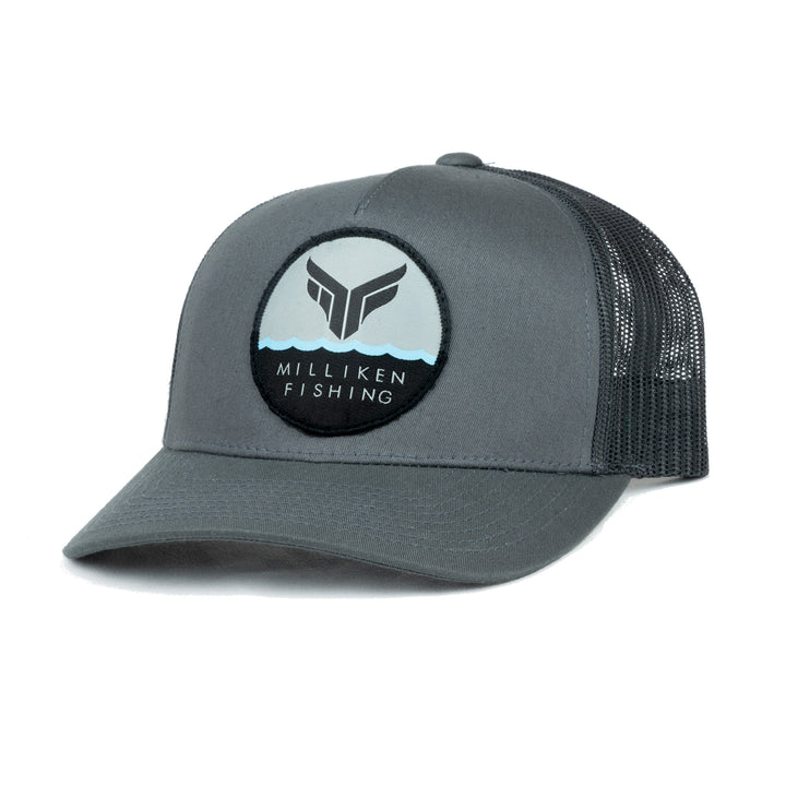 MF Semi-Curved Bill (Gray-Black)
