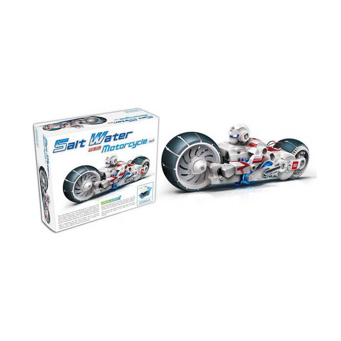 Salt Water Fuel Cell, Motorcycle Kit