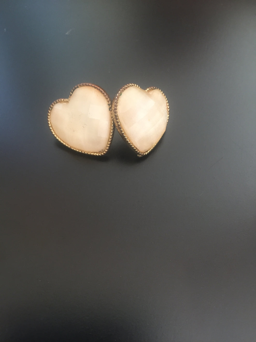 Heart shaped earrings-earrings-Elinye_ithuba