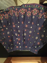 Load image into Gallery viewer, Girl's navy floral skirt-skirts-Elinye_ithuba