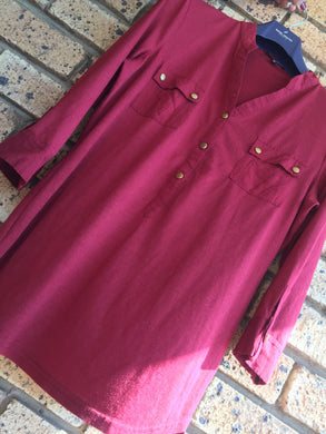 ***Never Worn*** Maroon Jay-Jays ladies shirt-shirts-Elinye_ithuba