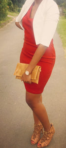 Red, Identity formal ladies dress-dresses-Elinye_ithuba