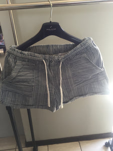 striped 'hey Betty' ladies shorts-shorts-Elinye_ithuba