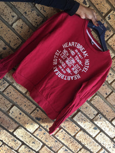 Red 'Red Earth' ladies sweater-sweaters-Elinye_ithuba