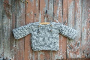 Luik sweater - 50/56 - ash gray