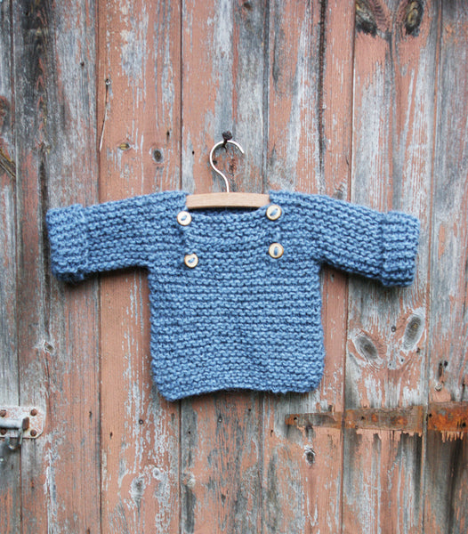 Luik sweater - 62/68 - light indigo