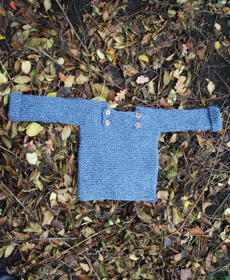 Luik sweater - 98/110 - light indigo