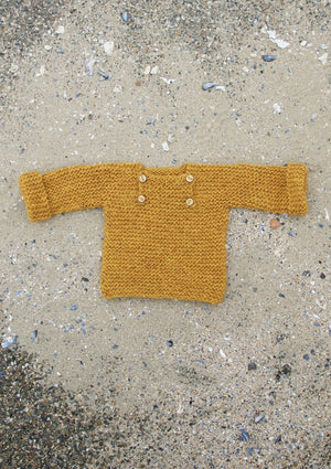 Luik sweater - 98/110 - mustard