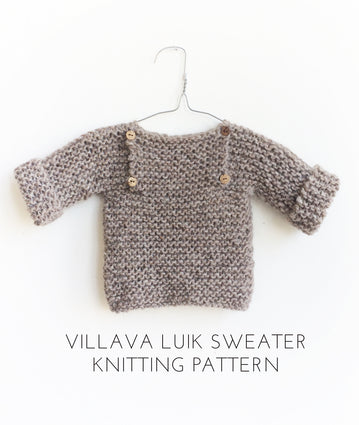 Luik Sweater Knitting Pattern