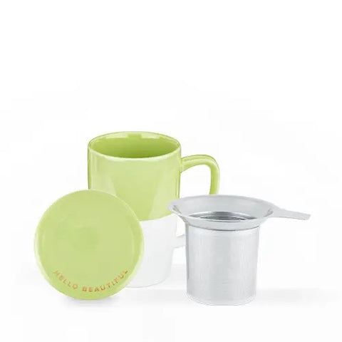 Delia™ Green Tea Mug & Infuser