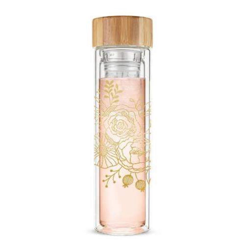 Blair™ Bouquet Glass Travel Infuser Mug