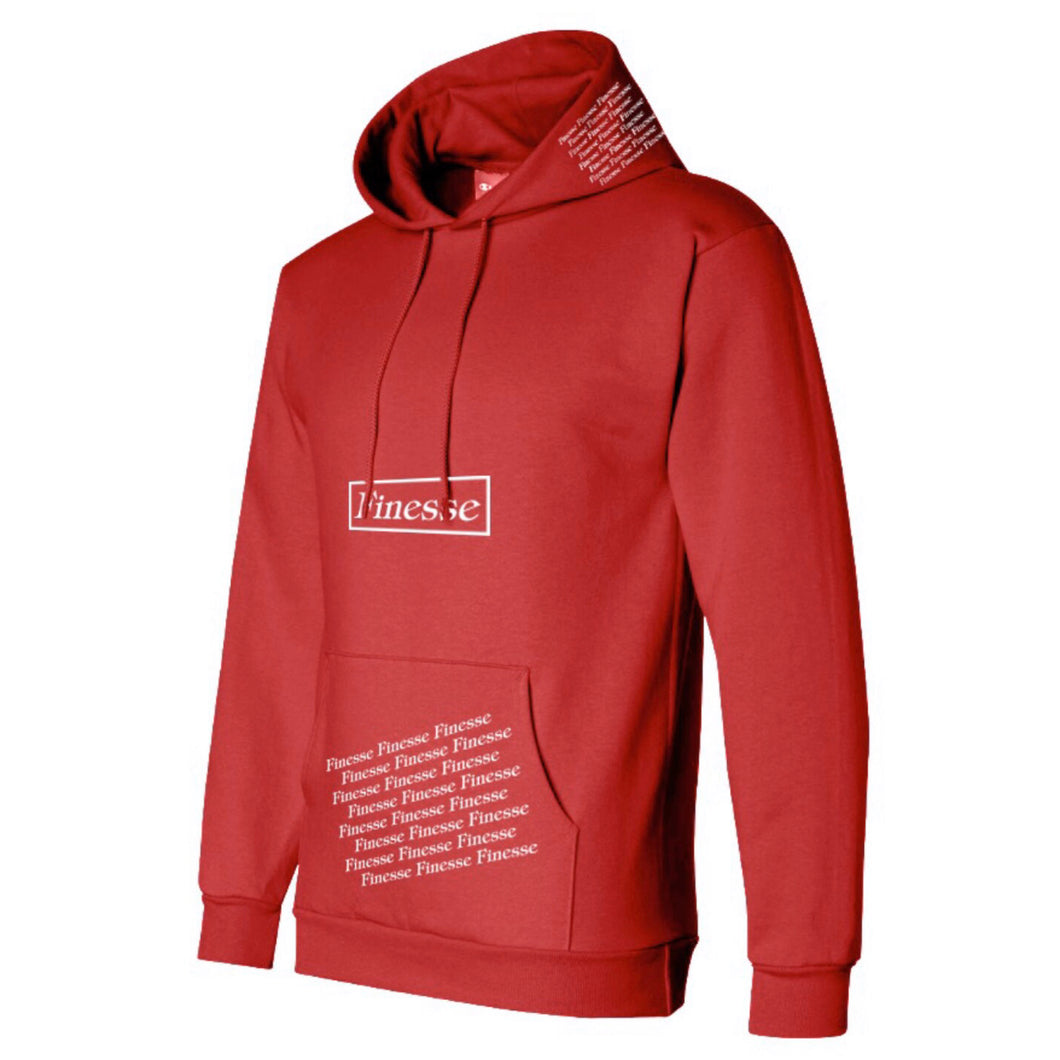 CHERRY PULLOVER HOODIE -RED