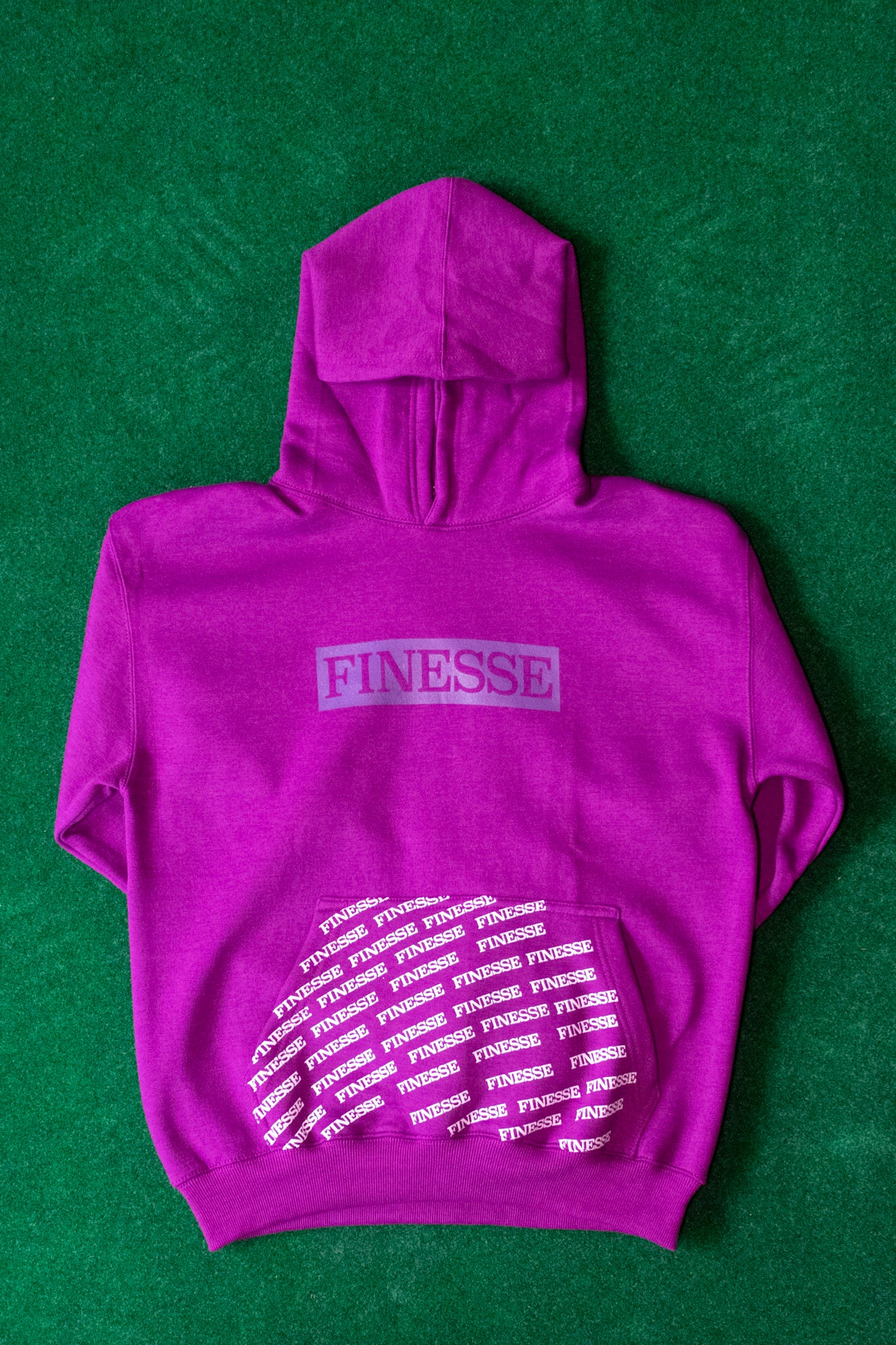 FINESSE DARK PURPLE ORIGINAL HOODIE 2.0