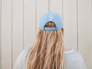 """Self-Love Club"" Light Blue Hat"