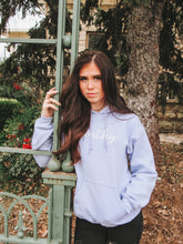 Load image into Gallery viewer, Lilac Wor✞hy Hoodie- Lovelies
