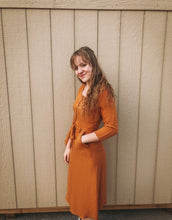 Load image into Gallery viewer, Rust Orange Dress- Lovelies