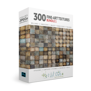 300 Fine Art Texture Bundle - LensLab™