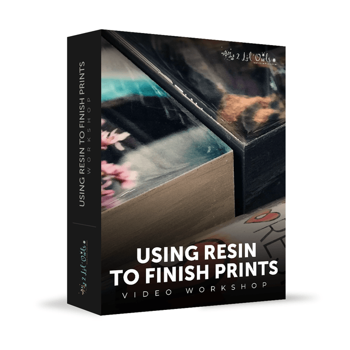 Finishing Prints With Resin - Workshop