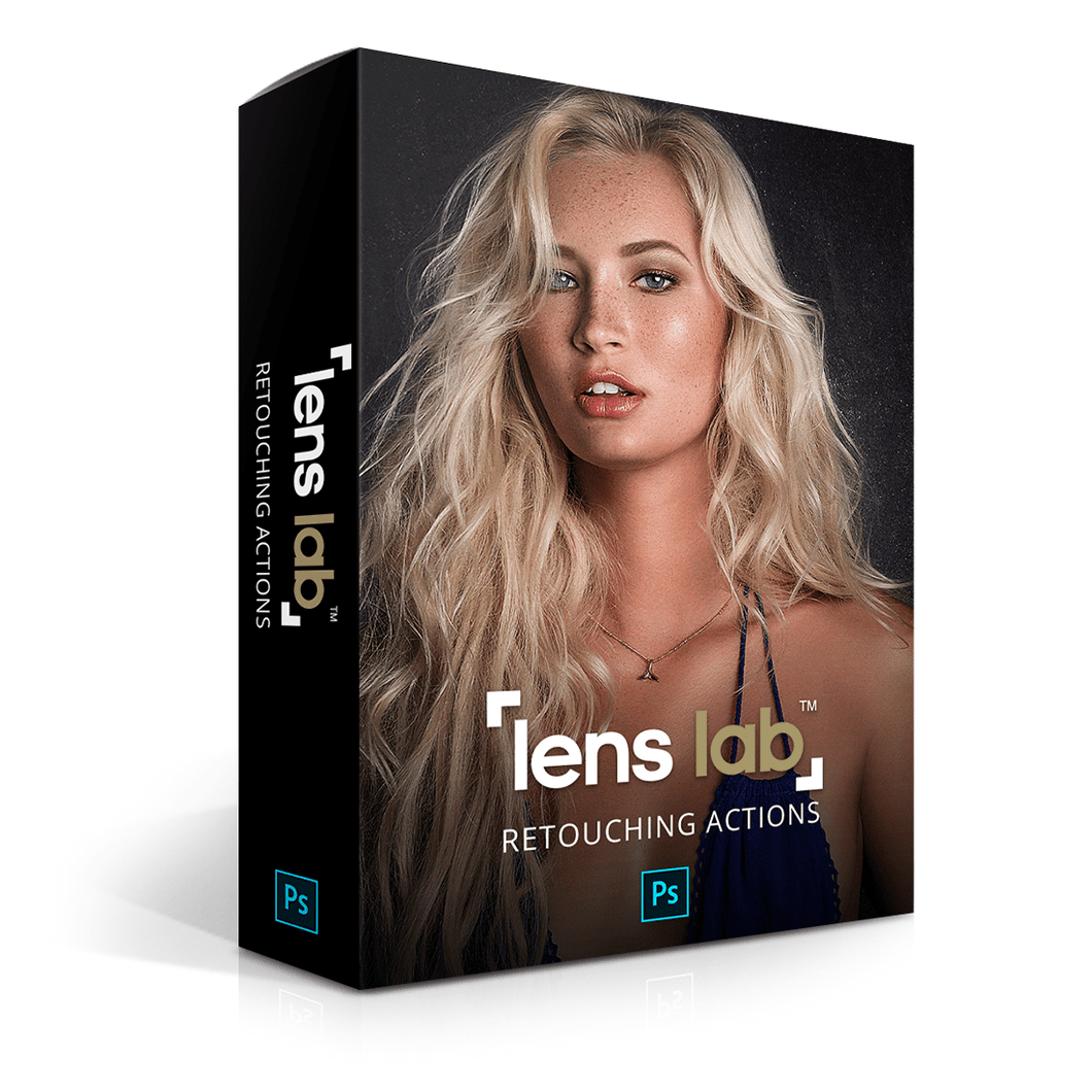 LensLab™ Retouching Actions