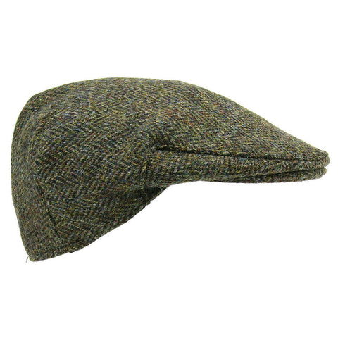 Glencroft Harris Tweed Flat Cap