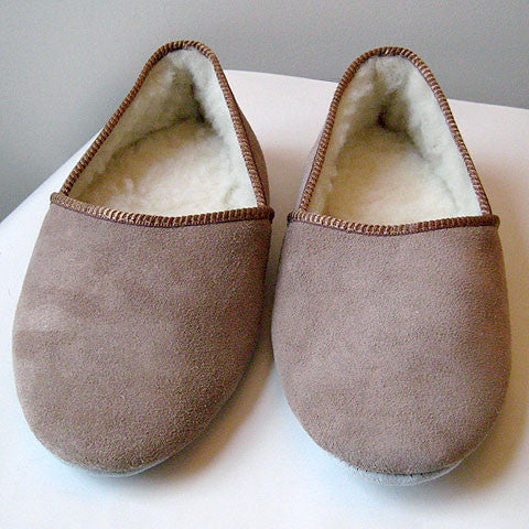 Mens Suede Grecian Slippers