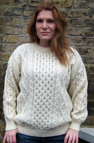 Traditional Aran jumper - unisex