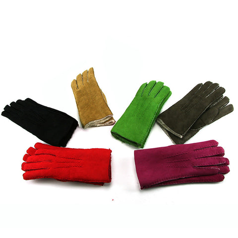 Ladies hand sewn lambskin gloves