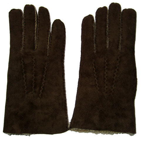 Mens hand sewn lambskin gloves