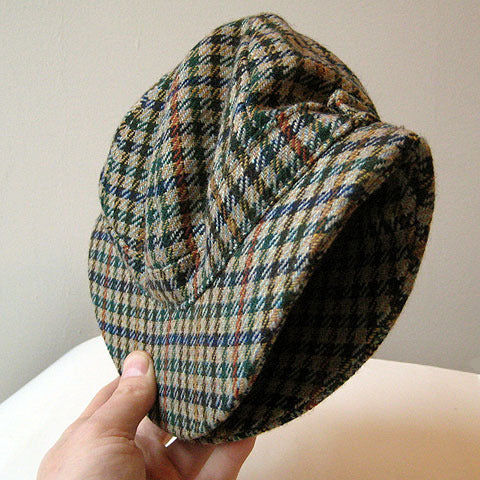 Tweed 'Ghillie' hat
