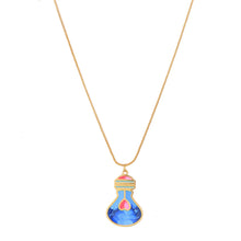 Load image into Gallery viewer, Blue bulb pendant