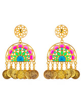 Load image into Gallery viewer, Jaipur love statement earrings