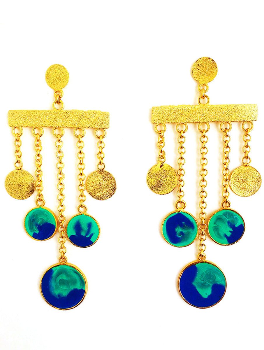 Colour Carnival Danglers Earrings