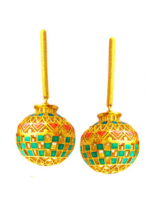 Matka earrings