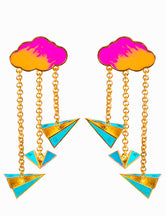 Load image into Gallery viewer, Paper Plane Earrings