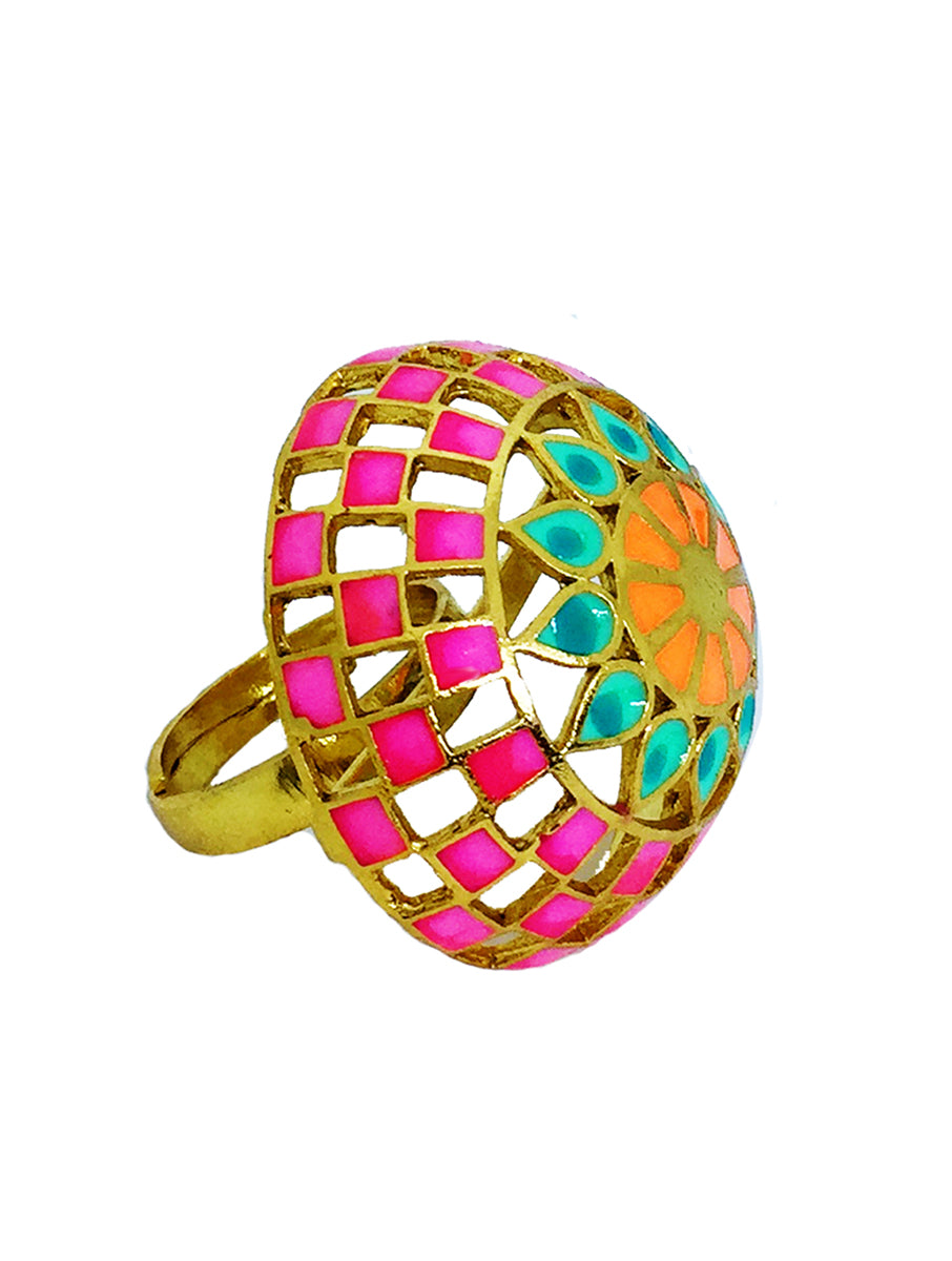 Jali Dome Ring