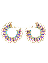 Load image into Gallery viewer, Illuminate Balis Pink Purple Earrings
